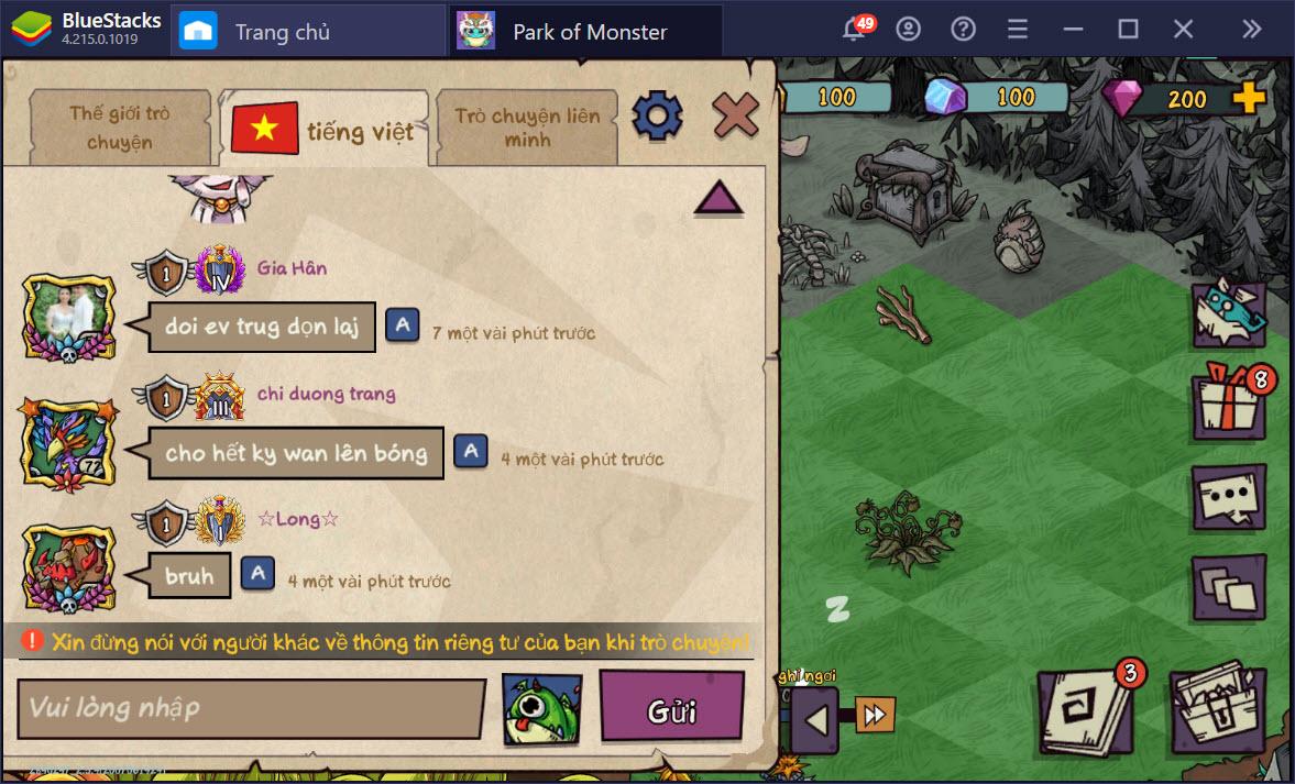 Chơi Park of Monster trên PC dễ hay khó?