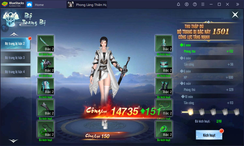 Cách chơi vượt cấp trong Phong Lăng Thiên Hạ