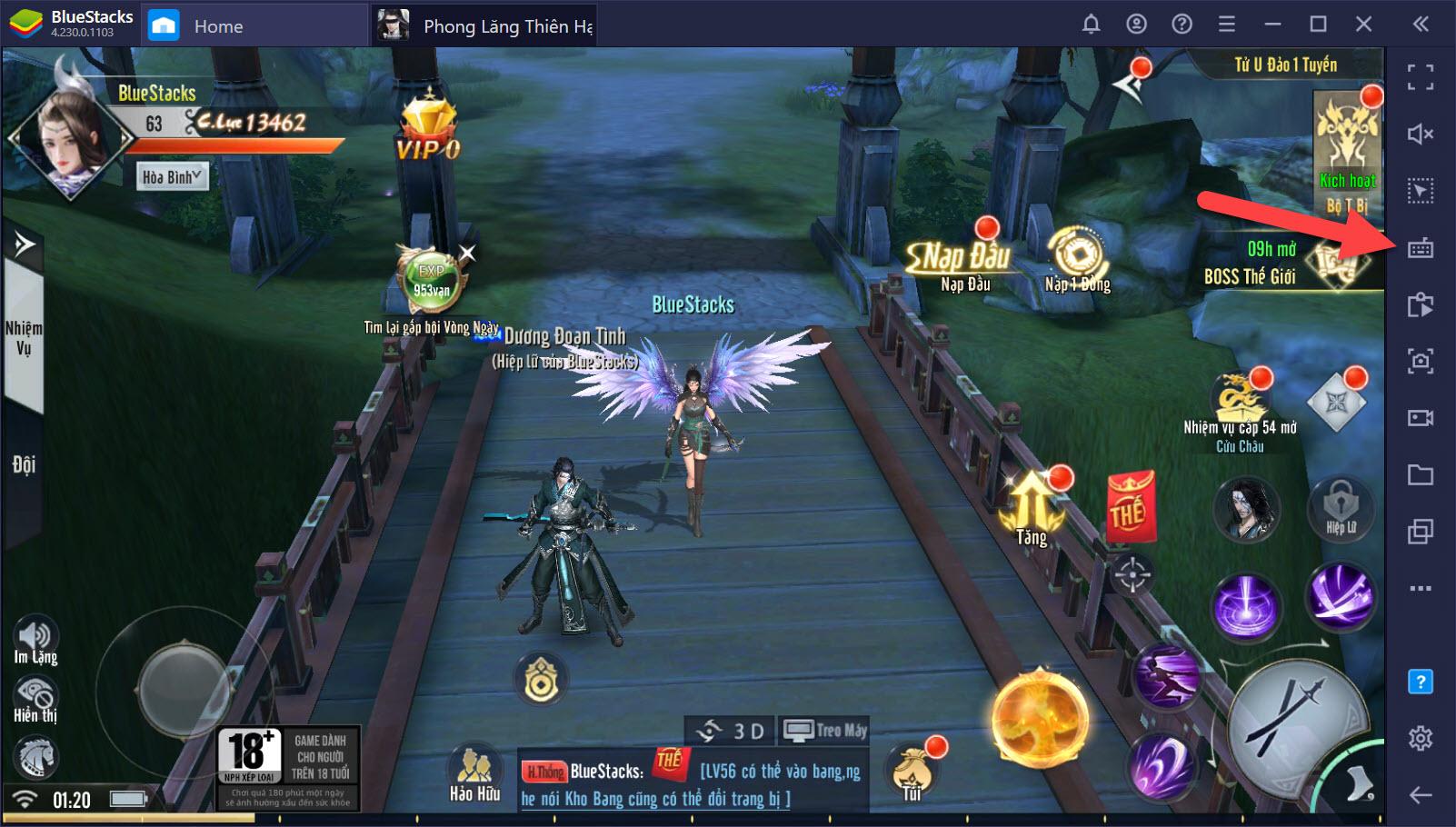 Kích hoạt Game Controls, tối ưu PvP trong Phong Lăng Thiên Hạ