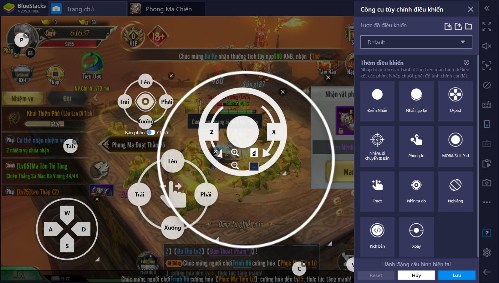 """Cách chơi PvP trong Phong Ma Chiến VTC """"bất bại"""" cùng Game Controls"""
