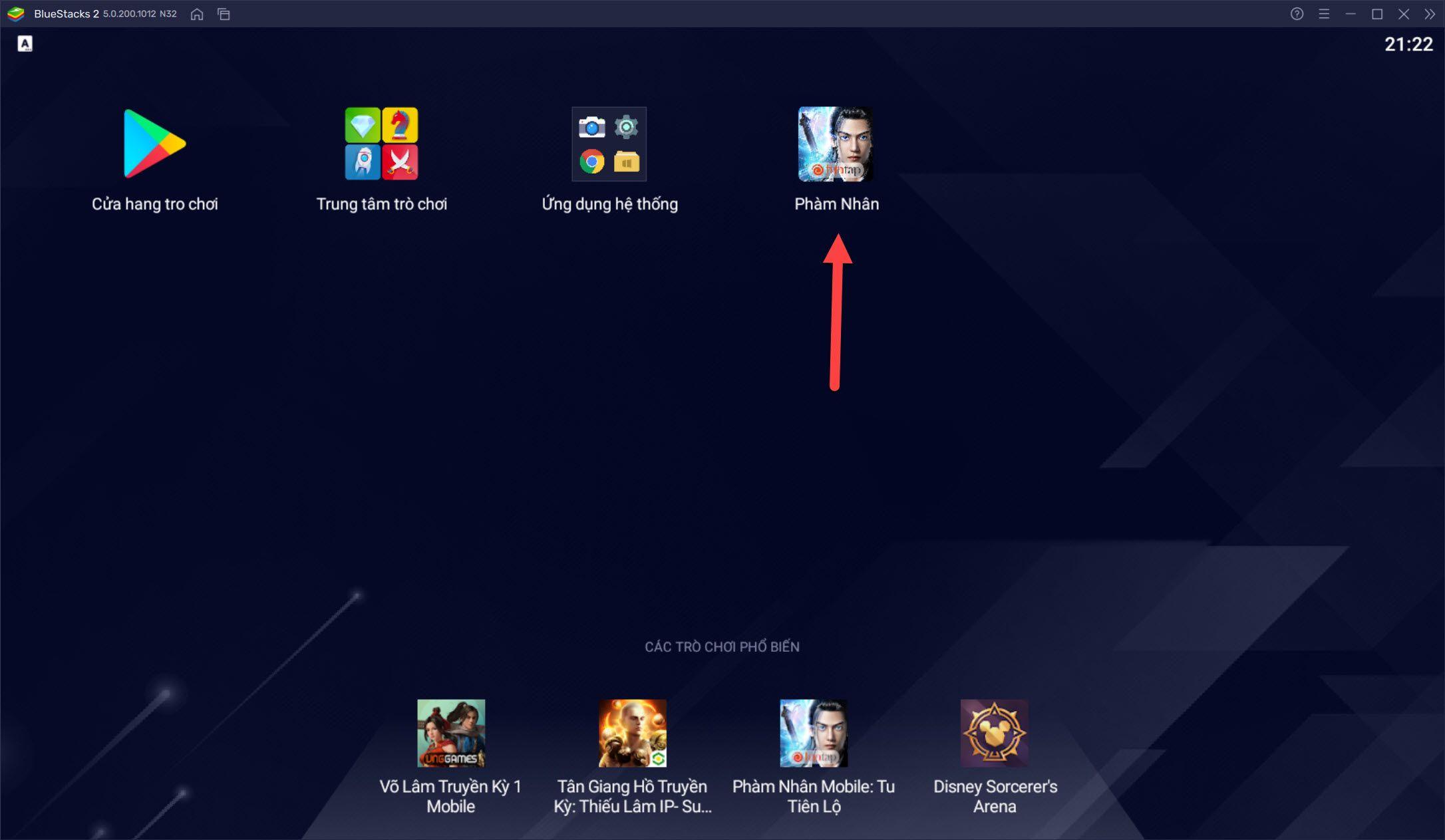 Hướng dẫn chơi Phàm Nhân Mobile bằng nhiều tài khoản với BlueStacks
