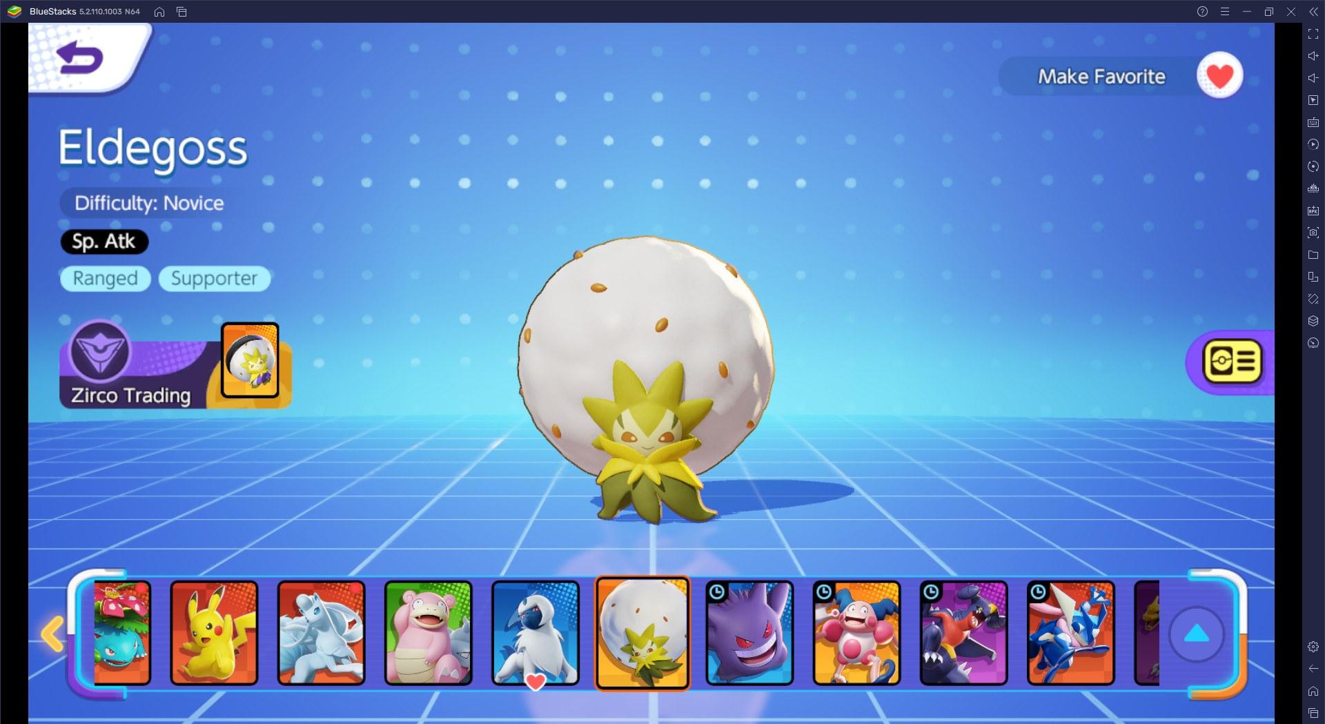 แนะนำโปเกมอนทุก Role ใน Pokémon UNITE