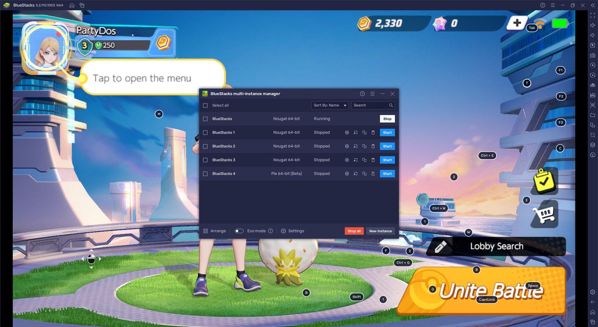วิธีติดตั้ง Pokémon UNITE บน PC และ Mac ผ่าน BlueStacks