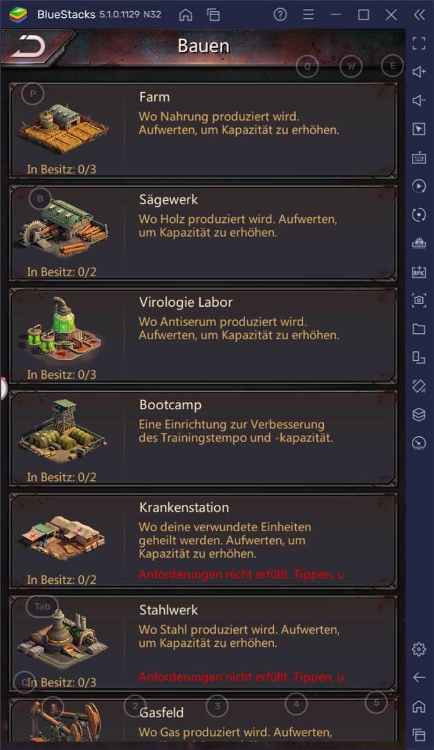 Löse Rätsel und überlebe – Wie man Puzzles & Survival mit BlueStacks auf dem PC spielt