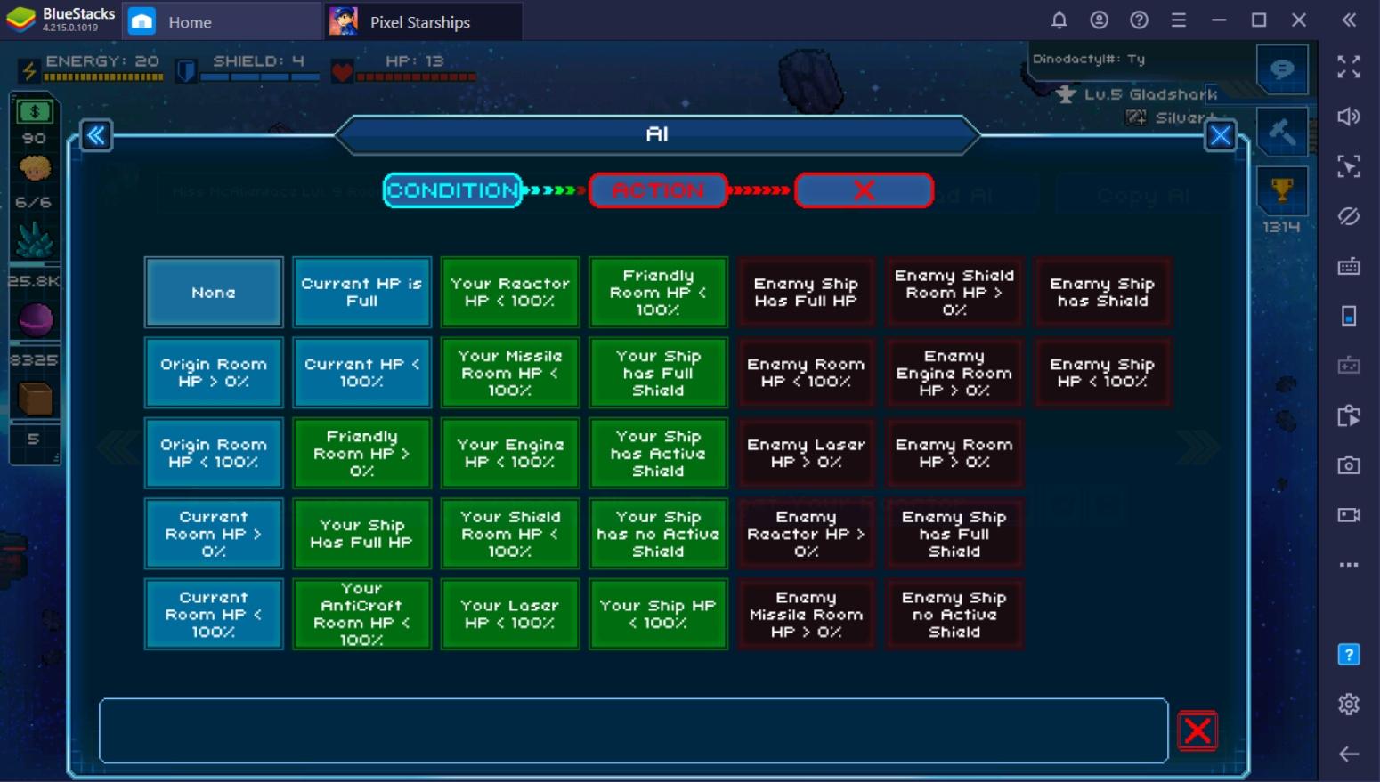 Creating a Battle Ready Vessel in Pixel Starships