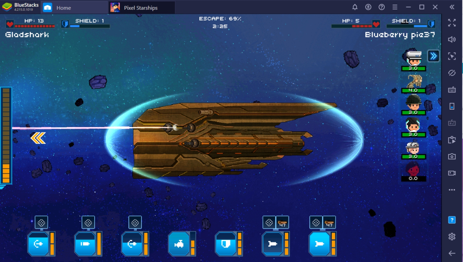 Guide to Space Warfare: Battling in Pixel Starships