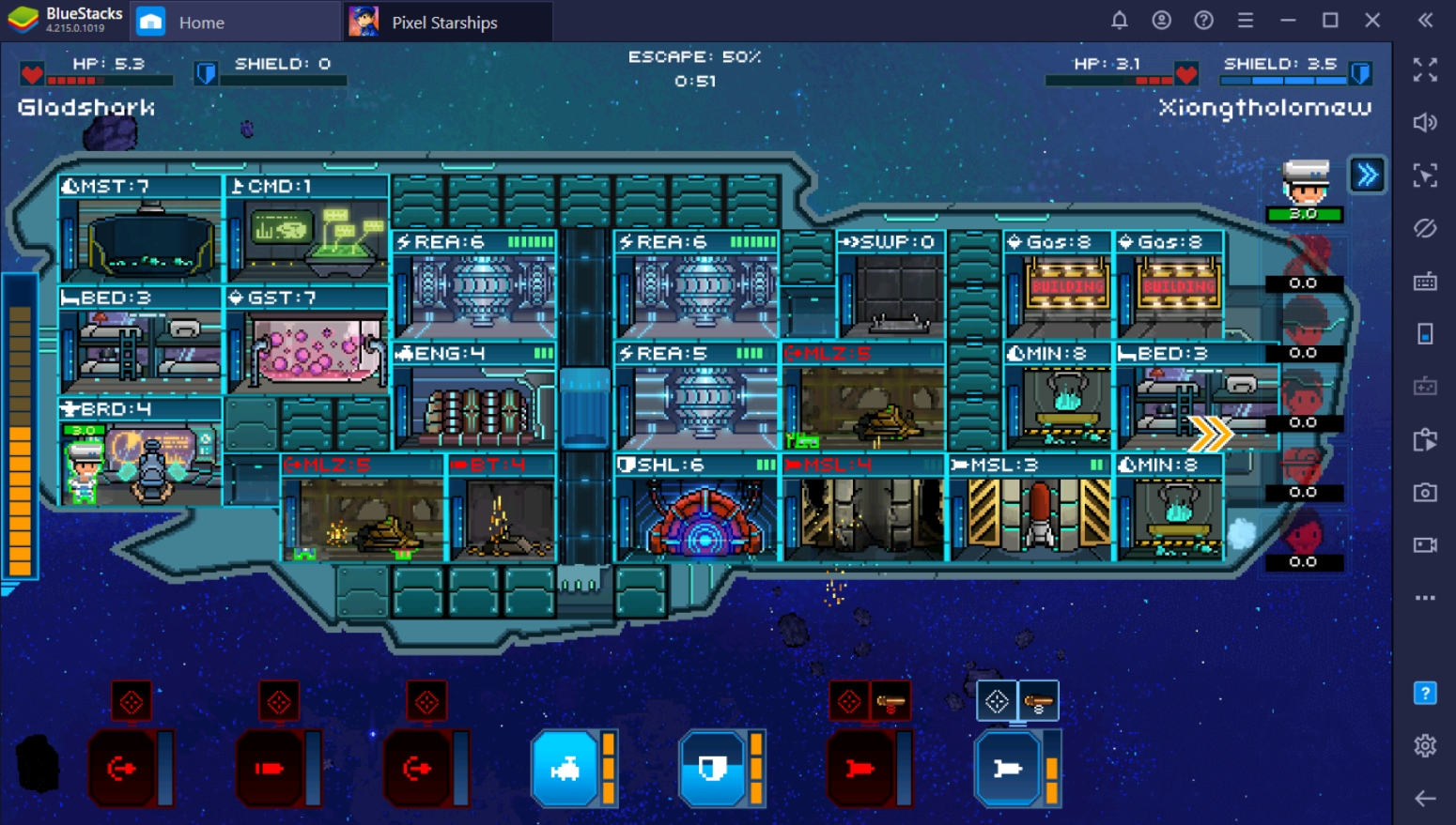 Guide to Space Warfare: Battling in Pixel Starships
