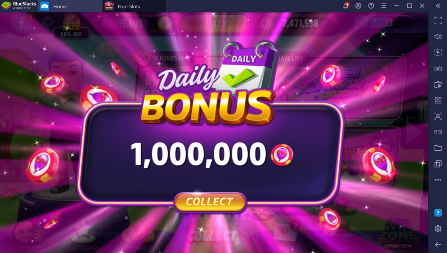 Guide to Getting More Chips in POP! Slots Casino | BlueStacks