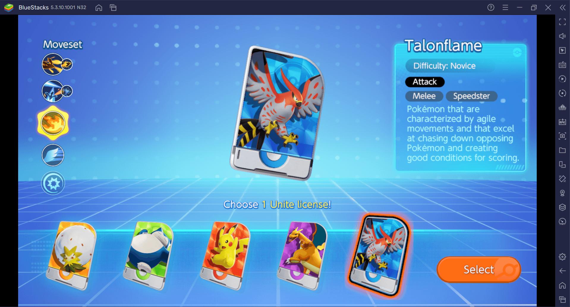 Qual o melhor Pokémon inicial de Pokémon UNITE?