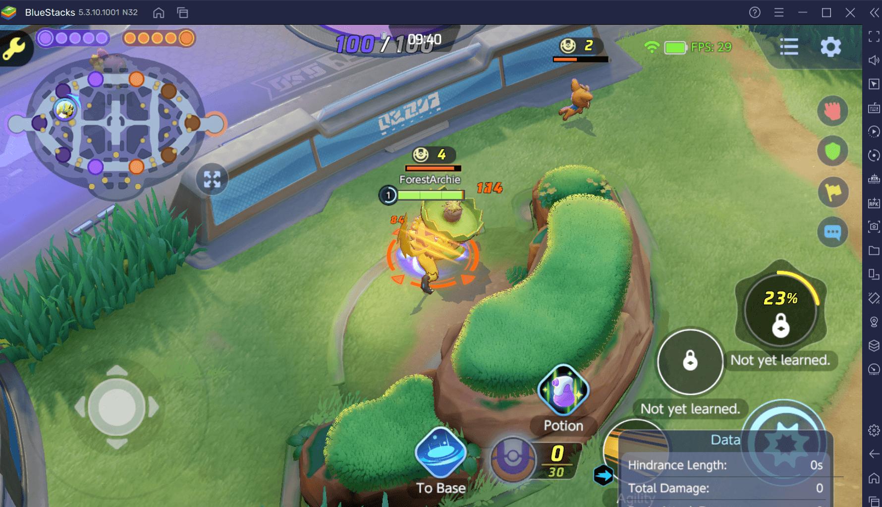 Saiba como jogar em cada rota de Pokémon UNITE: Selva, Topo e Bottom