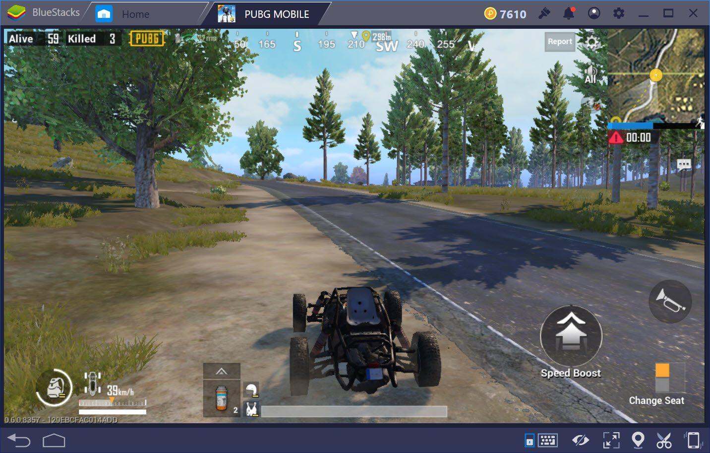 Cách chạy bo an toàn trong PUBG Mobile