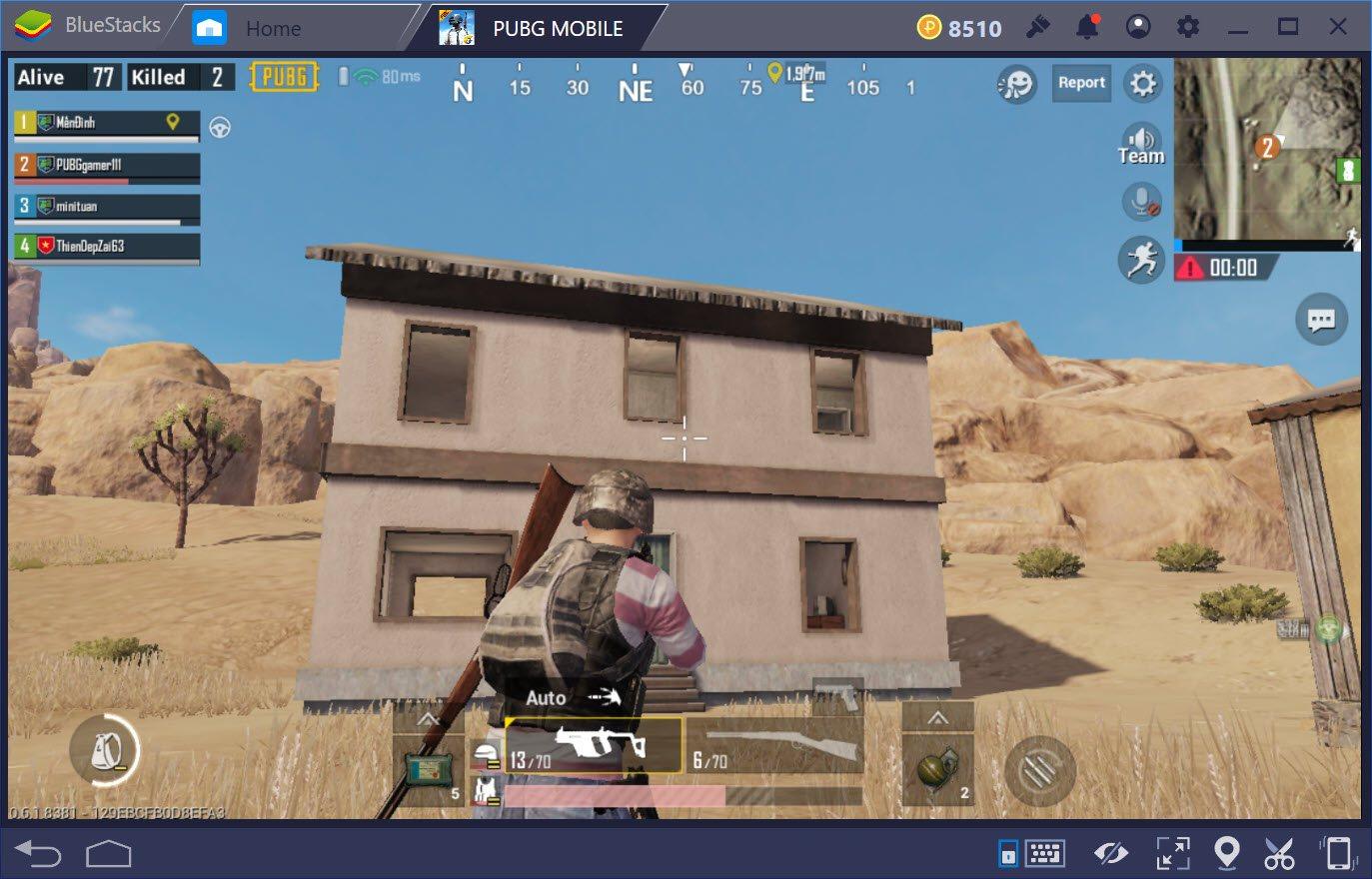 Sai lầm hay mắc phải khi chơi map sa mạc trong PUBG Mobile