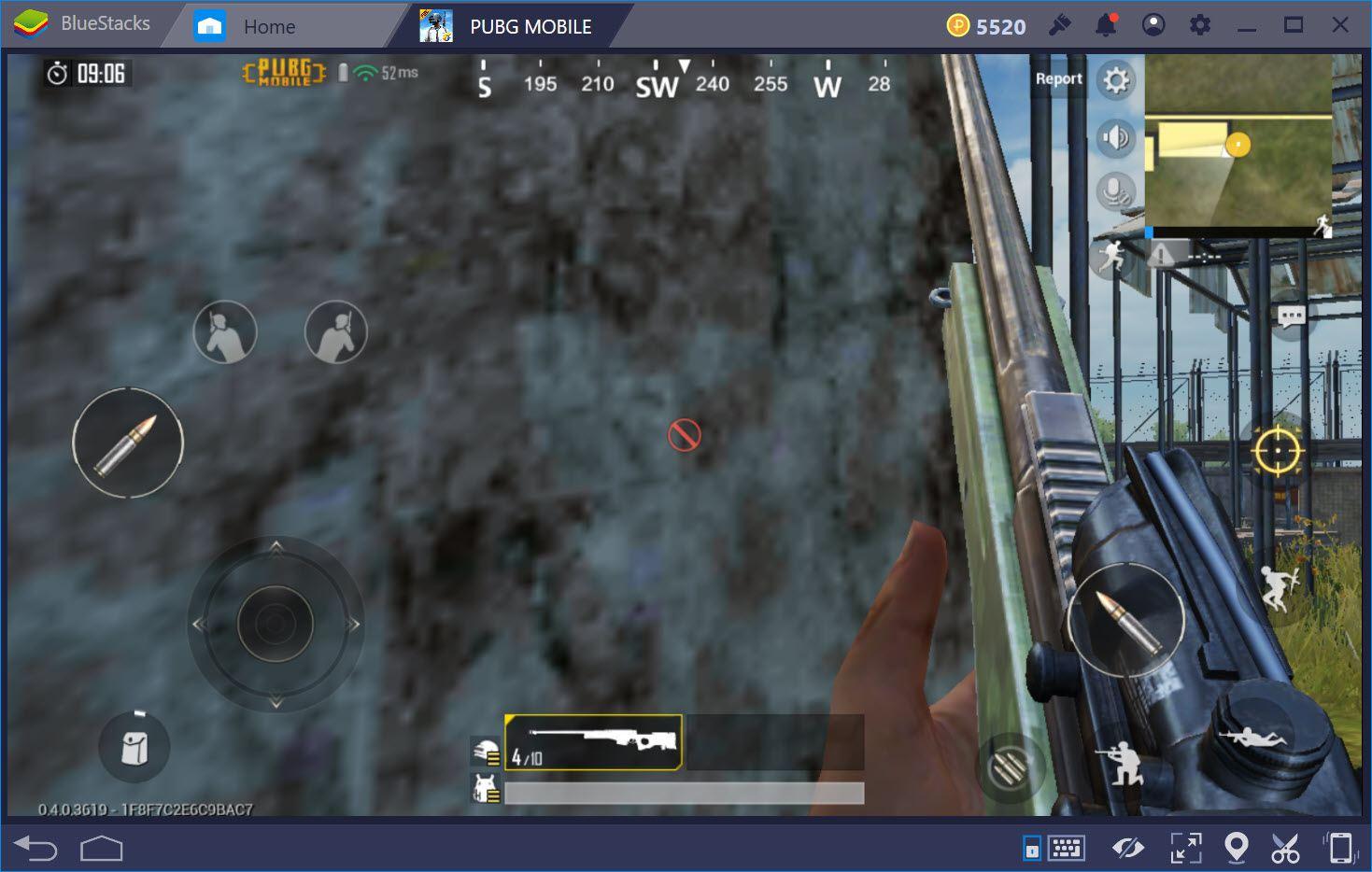 Kích hoạt nghiêng người khi chơi PUBG Mobile