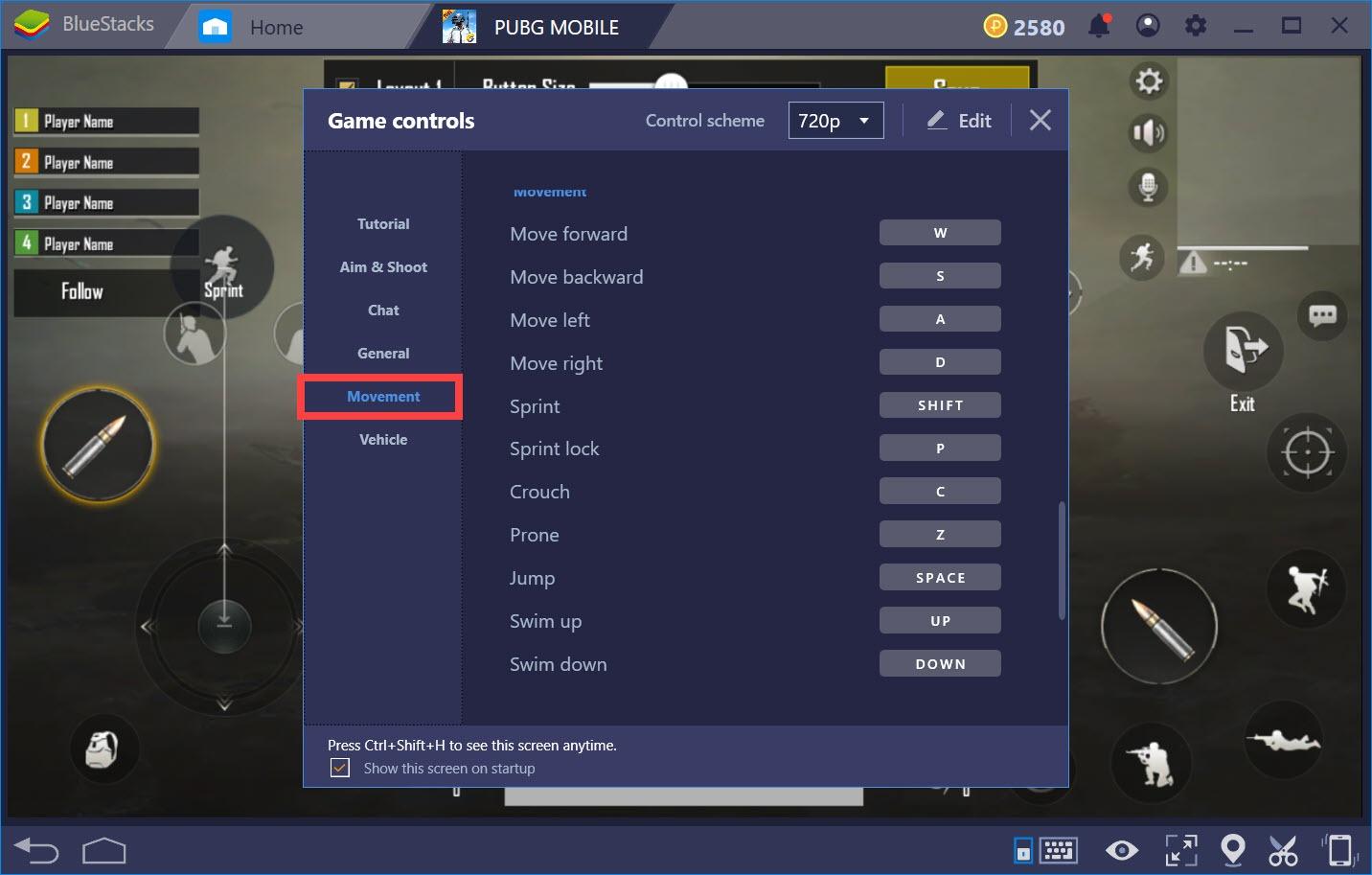 Hướng dẫn thiết lập Game controls khi chơi PUBG Mobile với