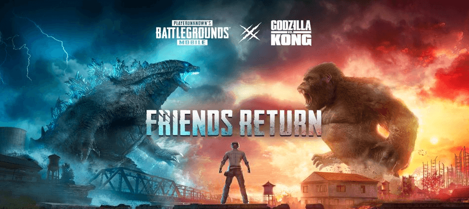 Penjelasan Mode Event Kolaborasi PUBG Mobile x Godzilla vs Kong!