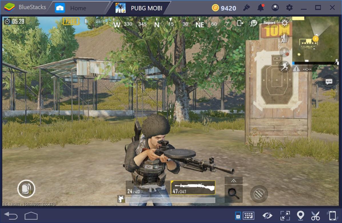 Machine Gun, những con quái vật thực sự trong PUBG Mobile