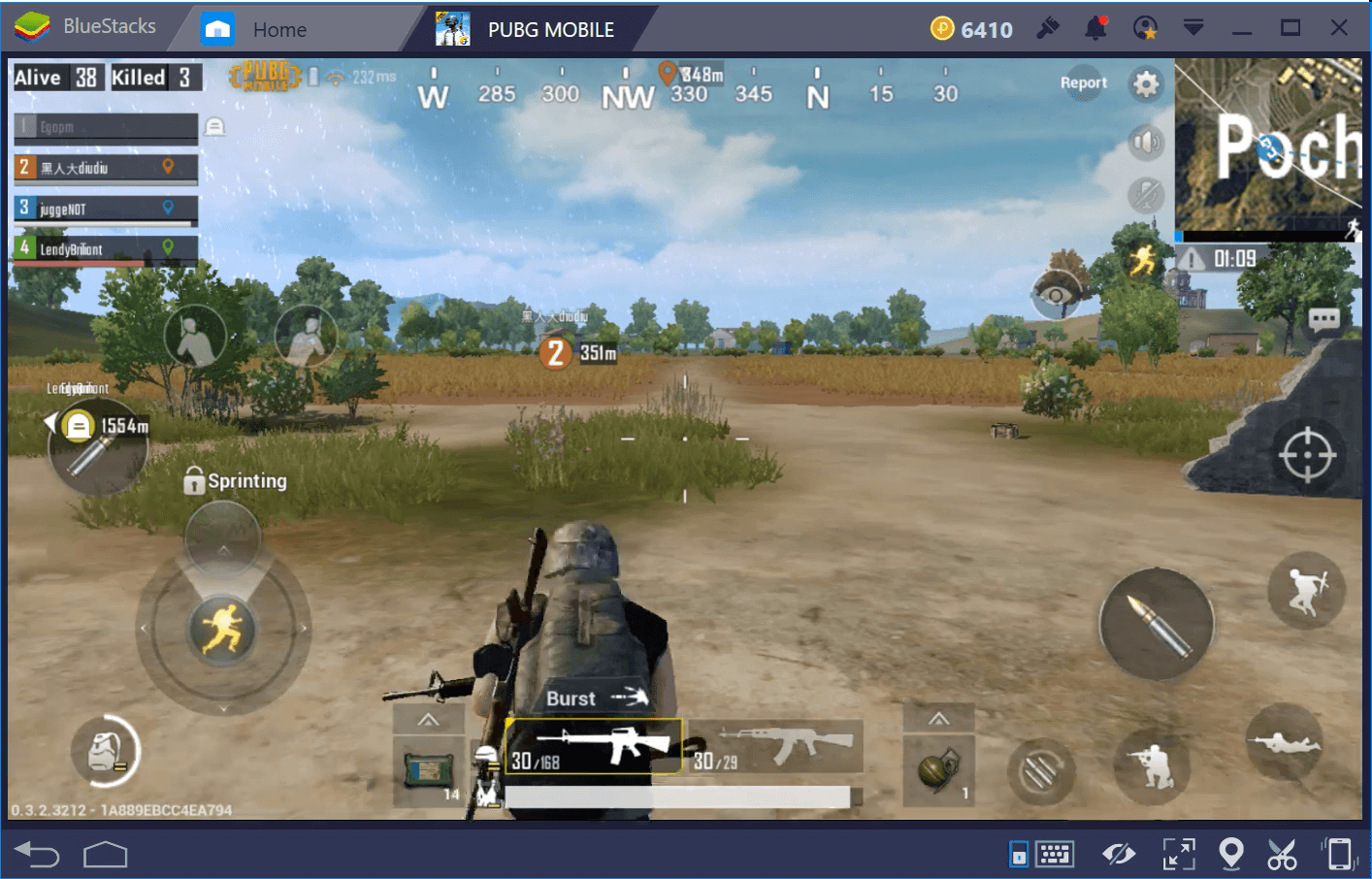 PUBG Mobile Map differences