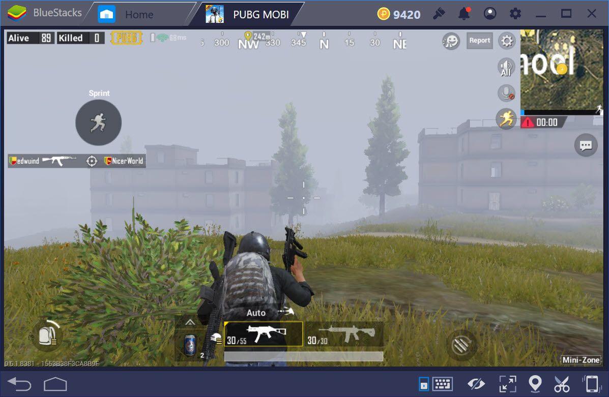 Cách chơi chế độ Mini-Zone trong PUBG Mobile