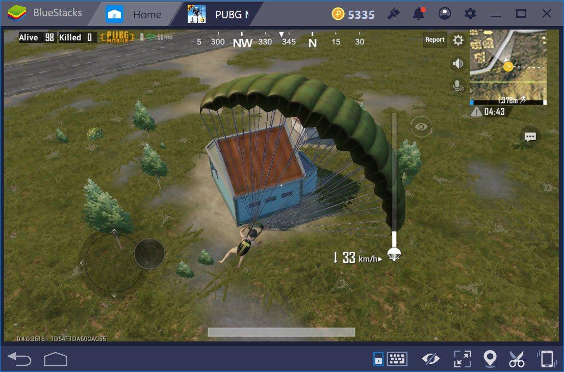 PUBG Mobile: Một số mẹo nhảy dù hiệu quả