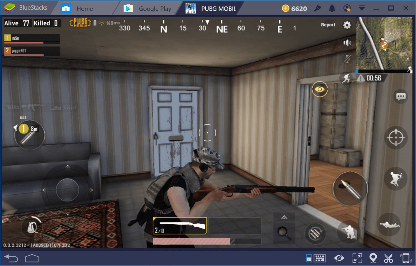 PUBG Mobile Shotguns