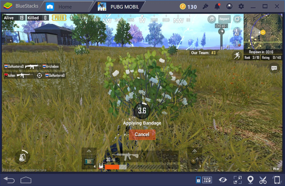 Tìm hiểu chế độ War trong PUBG Mobile