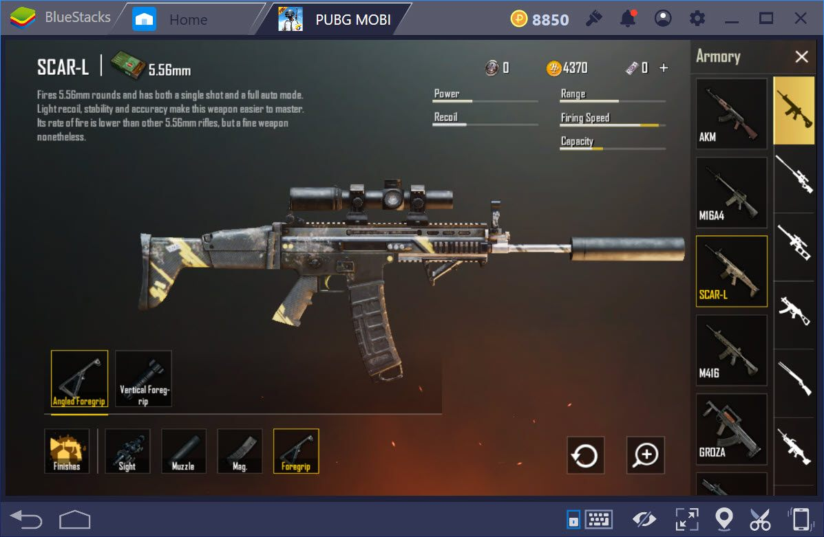 Cách sử dụng Scar-L, súng trường tấn công hoàn hảo nhất trong PUBG Mobile