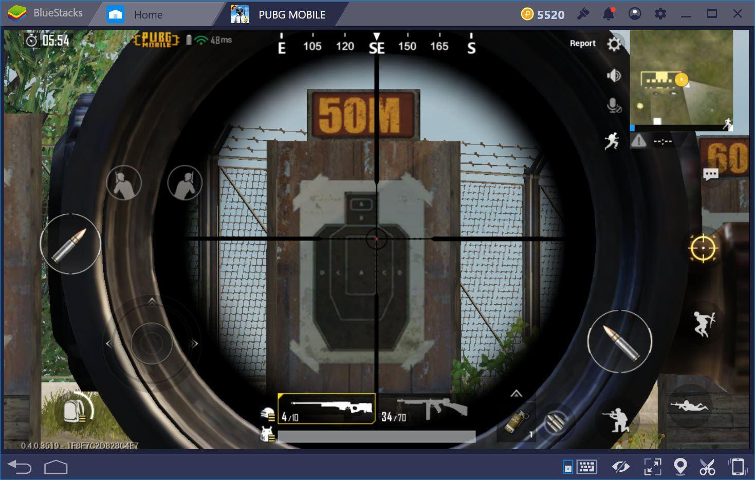 Phân biệt Holographic Sight, Red Dot, Scope 2x, 4x, 8x trong PUBG Mobile