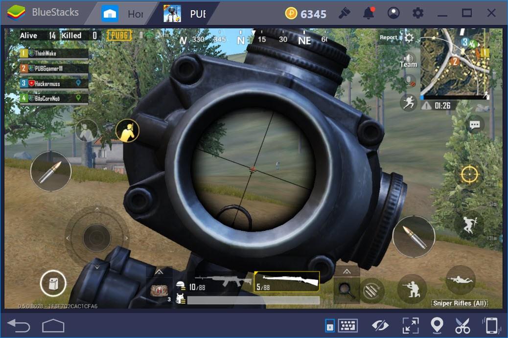 Cách chơi chế độ Sniper Training trong PUBG Mobile