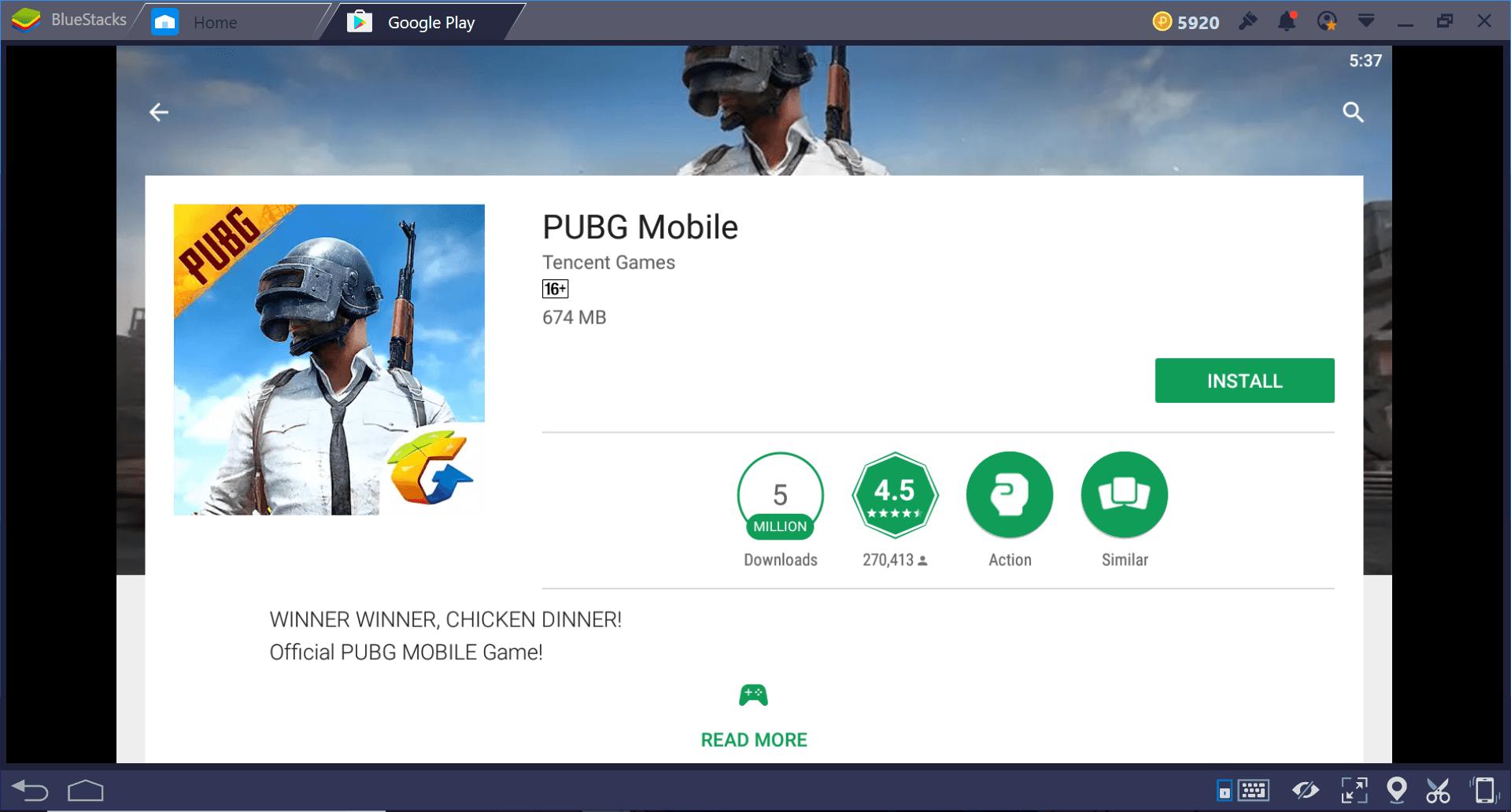 PUBG Mobile เวอร์ชั่นภาษาอังกฤษเปิดให้บริการแล้ว