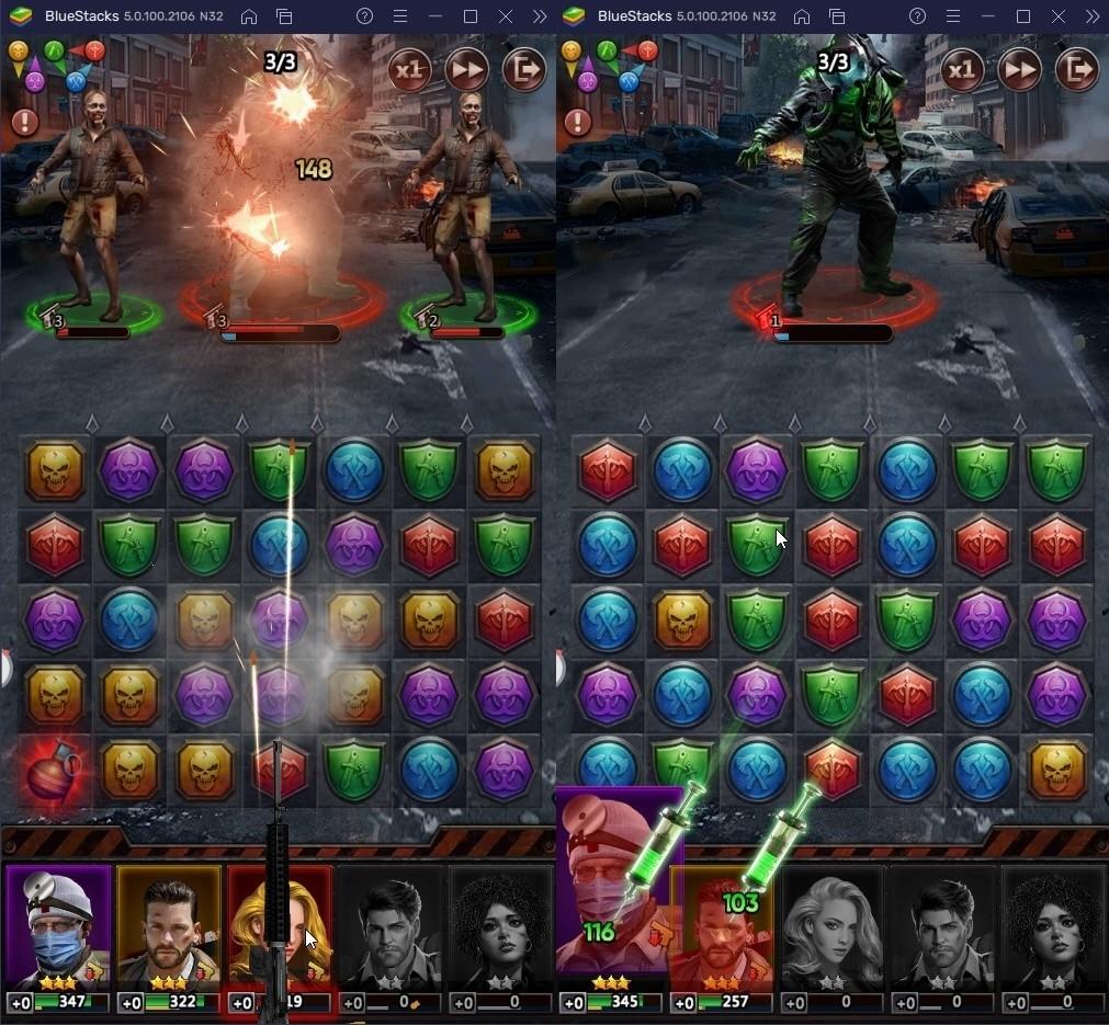 퍼즐과 SLG의 재미를 동시에 챙겨봐요! 퍼즐 오브 Z 지금 바로 PC에서 블루스택 앱플레이어로 플레이 가능!