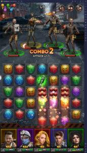 Puzzles & Survival: Xếp ngọc diệt zombie trên PC cùng BlueStacks
