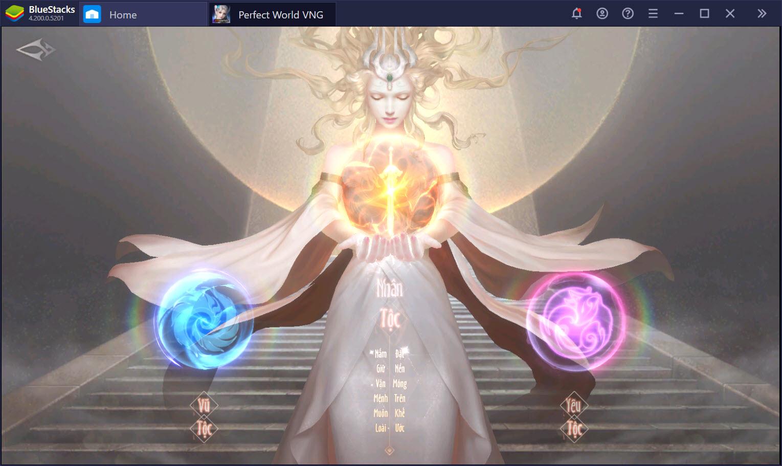 Yêu, Vũ, Nhân tộc – Đâu là lựa chọn hoàn mỹ của bạn trong Perfect World VNG?