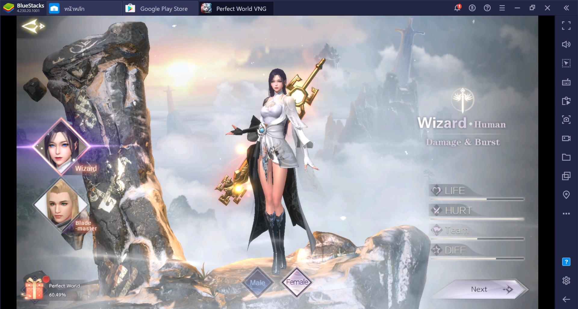 แนะนำอาชีพภายในเกม Perfect World VNG – Fly With Me