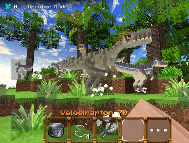 Speel Jurassic Craft on pc 4