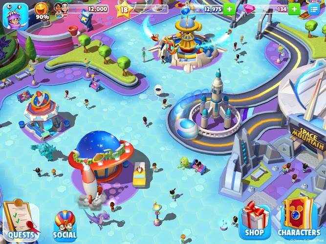 Download Disney Magic Kingdoms On Pc With Bluestacks