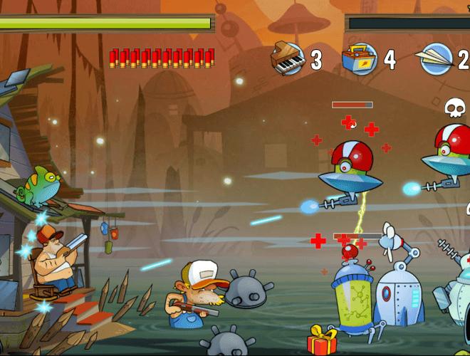 Играй Swamp Attack На ПК 8