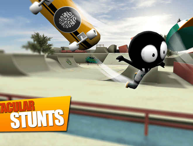 Play Stickman Skate Battle on PC 7