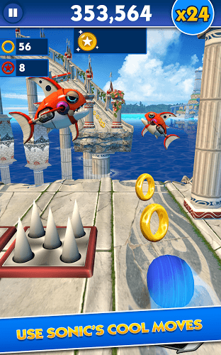 Play Sonic Dash on PC 15