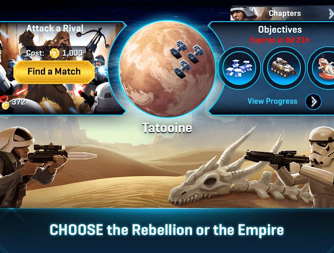 Play Star Wars Commander on pc 7