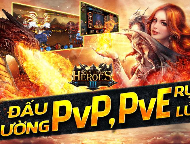 Chơi Huyền Thoại Heroes 3 on PC 9