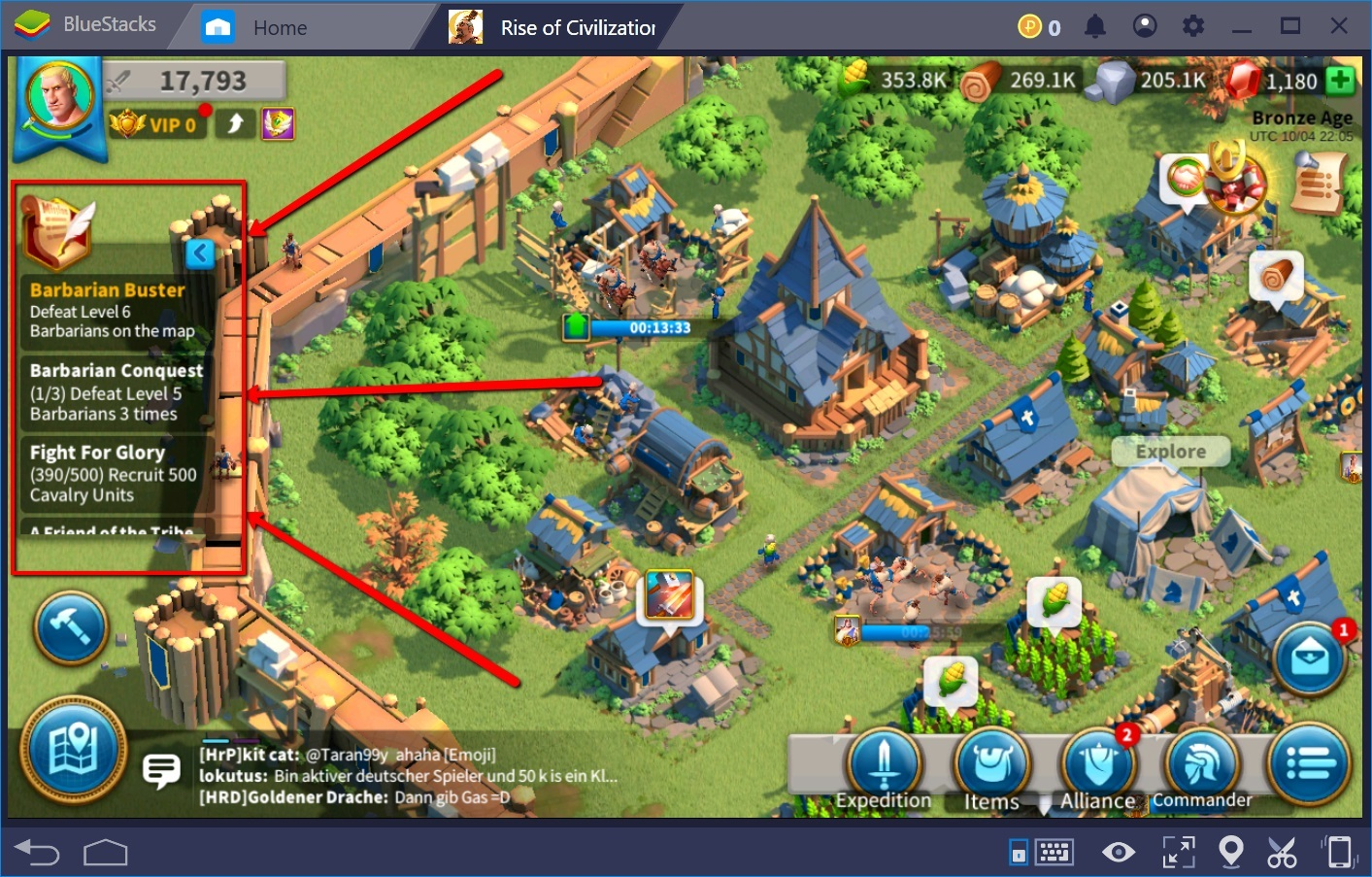 Best Tips and Tricks for Rise of Kingdoms | BlueStacks 4