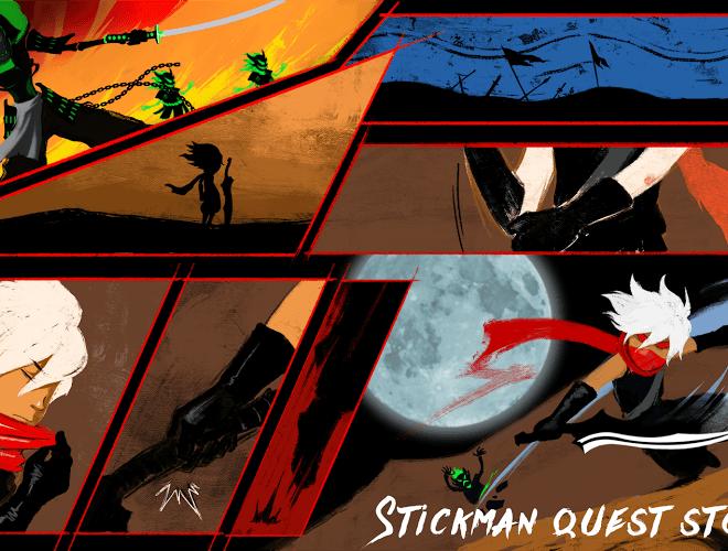 Chơi Stickman Quest on PC 4
