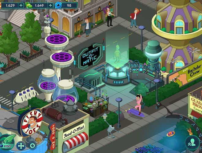 Play Futurama: Worlds of Tomorrow on PC 15
