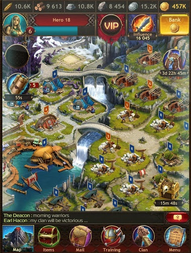 Play Vikings War of Clans on PC 16