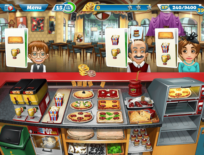 Jouez à  Cooking Fever sur PC 5