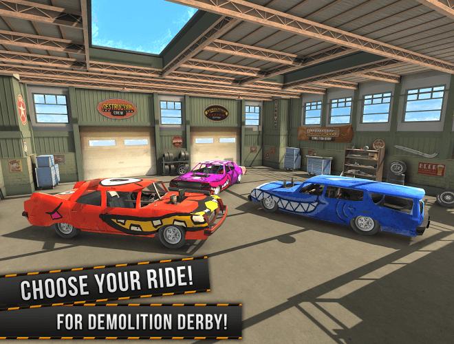 Play Demolition Derby Multiplayer on PC 13