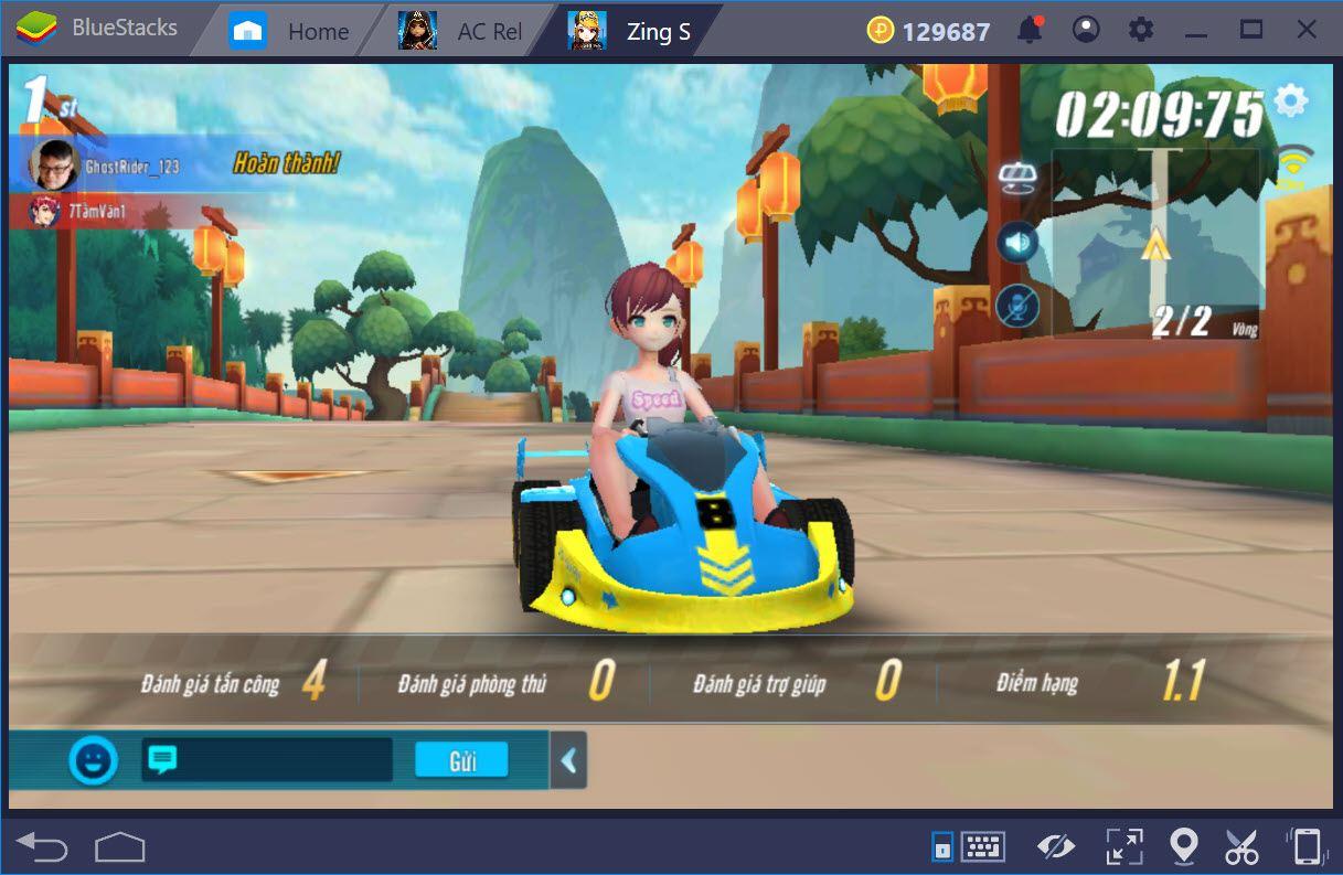 Tìm hiểu các chế độ đua trong ZingSpeed Mobile