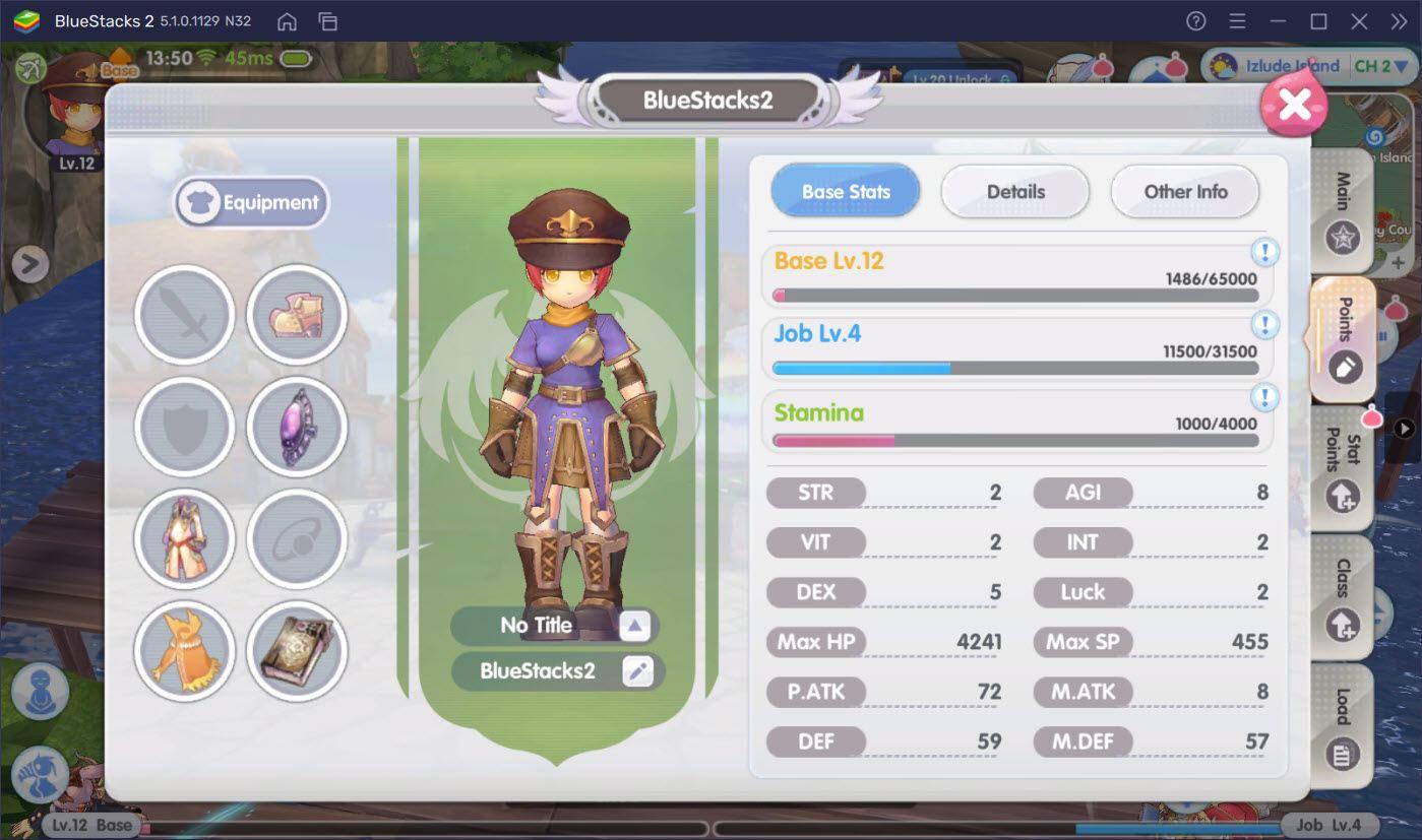 Tìm hiểu hệ thống điểm nhân vật trong Ragnarok X: Next Generation
