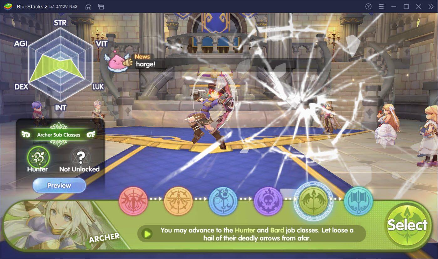 Cẩm nang lựa chọn class nhân vật khi chơi Ragnarok: X Next Generation