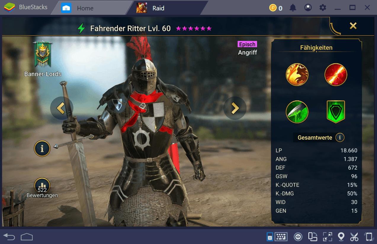 RAID: Shadow Legends – Guide zu den besten Champions im Spiel